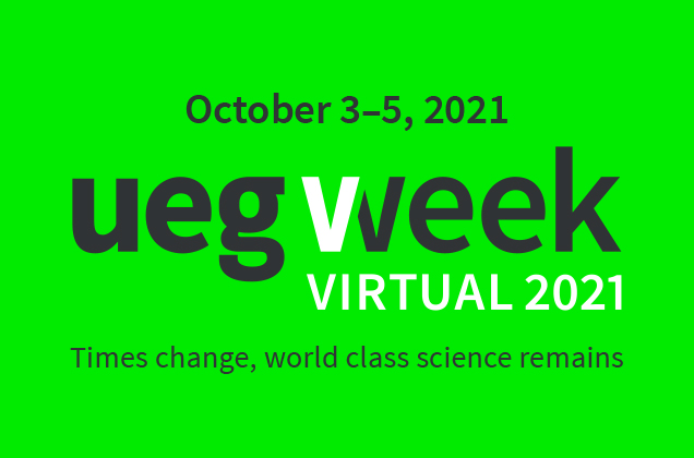 UEG Week Virtual & PGT 2021 - Mark your calendars