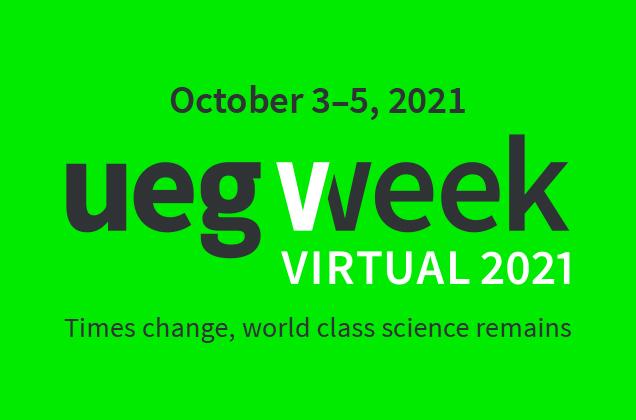 Registration for UEG Week Virtual 2021 open