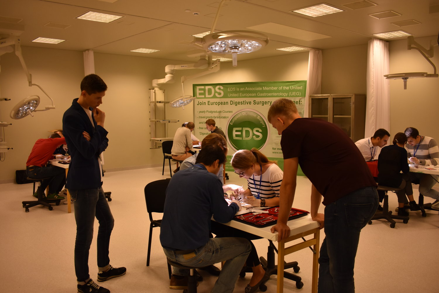 Impressions from the 2nd day of EDS Surgical Skills Course in Kaunas, Lithuania.