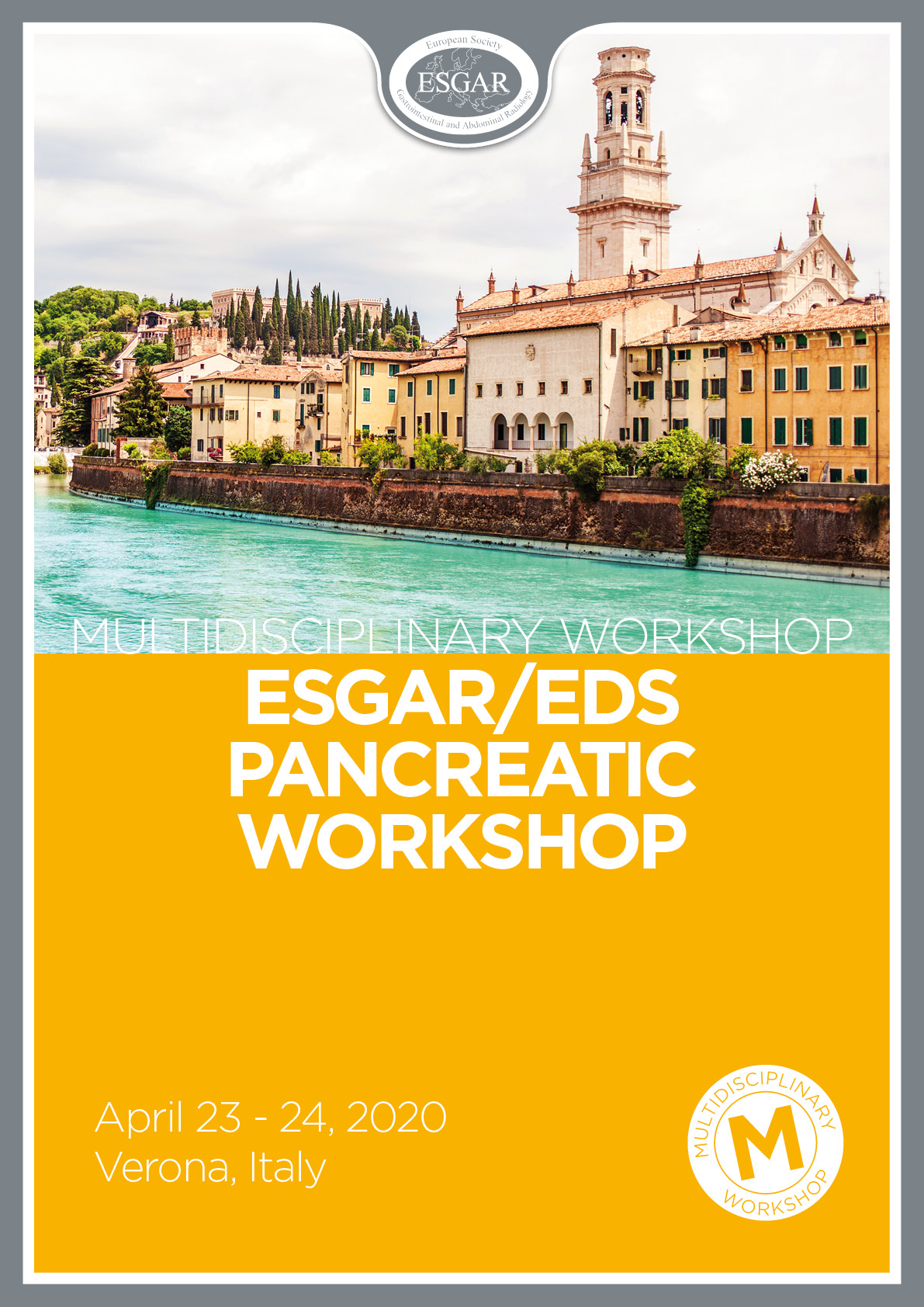 ESGAR and EDS multidisciplinary course on pancreatic diseases