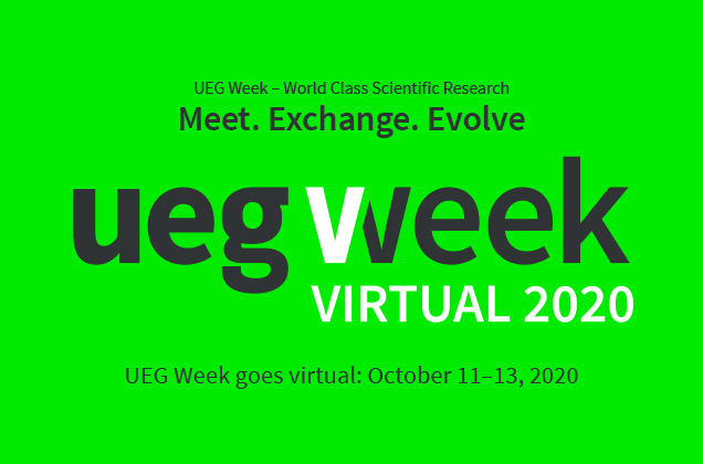 UEG Week Virtual 2020 (October 11-13)